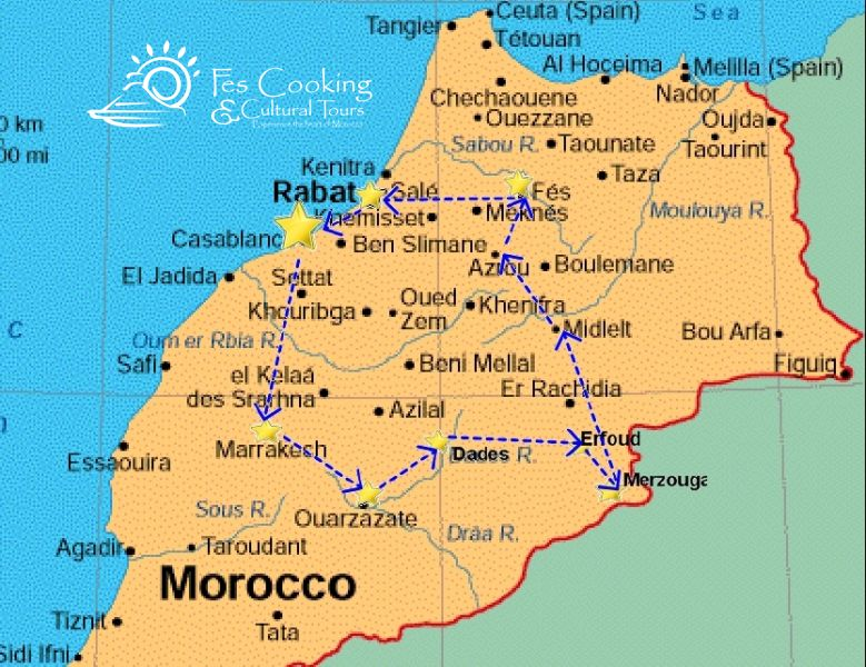 Classic Morocco Tour 9 Nights Lahcen Beqqi Cooking School