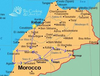 from-casa-discover-moroccos-south-tour-map