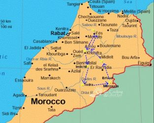 from-fes- authentic-morocco-map