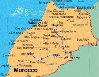 from-fes-fes-desert-short-tour-map