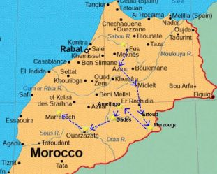 from-fes-morocco-atlas-mountains-desert-map