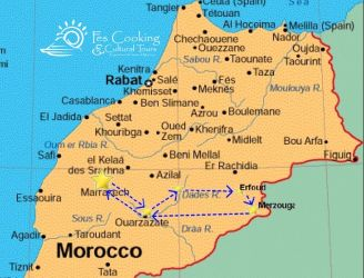 Atlas Mountains & Sahara Desert Short Tour (3 Nights) | Fescooking ...