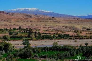 morocco-atlas mountain-scenery