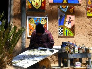 morocco-ben-haddou-artist
